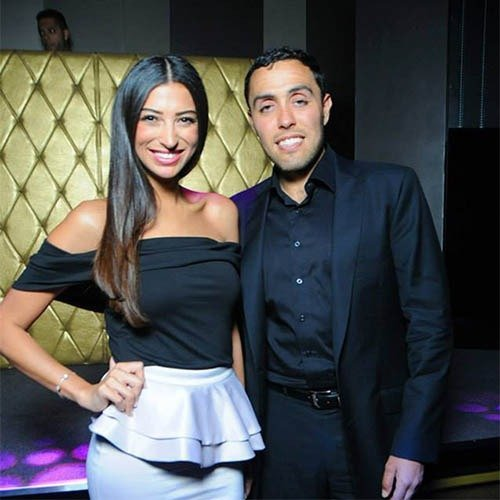 Jairek Robbins & Shereen Mitwalli Cocktail Evening