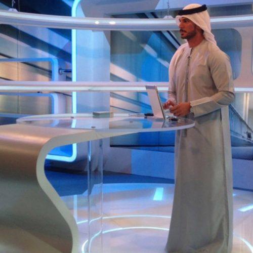 Award Winning Emirati Presenter Nouraldin Al Yousuf Signs With Talent Agency, Onstage International