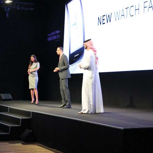Our Top Talent Shine at Samsung Product Launch