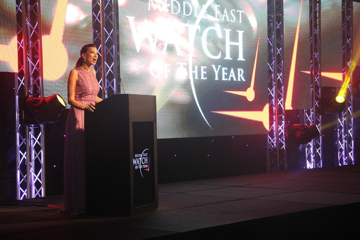 Shereen Mitwalli Hosts Prestigious Watch of The Year Awards 2014 at The Ritz Carlton DIFC