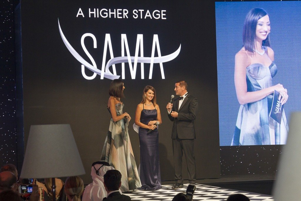 Onstage International | Shereen Mitwalli & Penélope Cruz in Sama Event