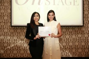 Onstage International | Shereen Mitwalli With our Talent Habiba