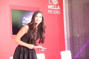 Onstage International | Shereen Mitwalli Presenting in Wella Pro Series Launch Event