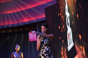 Onstage International | Shereen Mitwalli Presenting in an Award Show